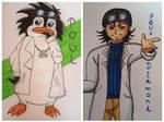 Poul (Penguin / Human) by Hibejime