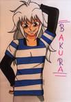 Bakura Ryou by Hibejime