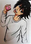 Wanna try my donut? by Hibejime