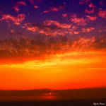 vibrant color sky