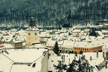Winter in Brasov by seraphRo