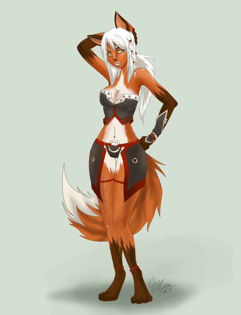 Fox Girl Fox girl by luigigurlFox Girl Warrior