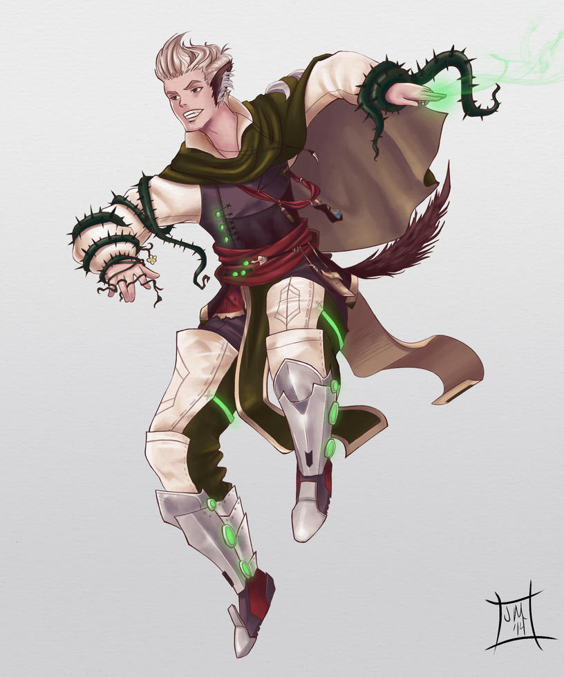 Green Mage Green Mage Full Body C...