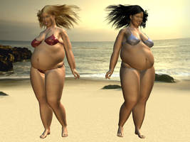 Sizeable Sisters by alex-daz