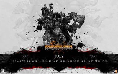 WAR Calendar - July 2008 by kriegs