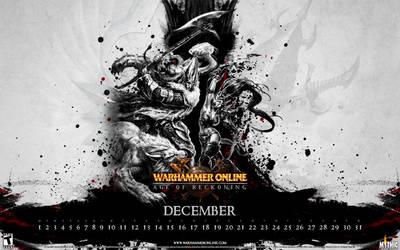 WAR Calendar - December 2008 by kriegs