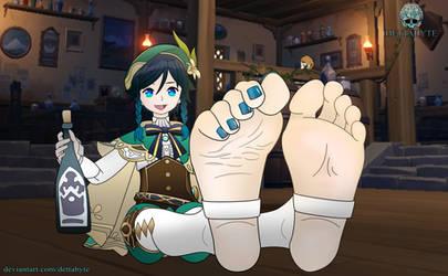 Venti's Feet