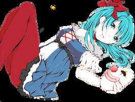 Miku Hatsune render 3 by namibekkklein