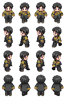 2p!Japan Sprites W/O Cape by PastaKitten
