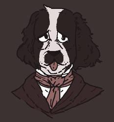 edgar allan pup by Random-Artist-1