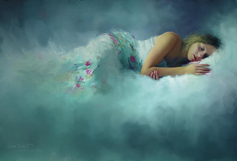 Sonno All'interno di Sogni Azzurri by L-E-N-T-E-S-C-U-R-A