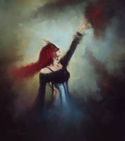 Regina del Mondo Dell'ombra by L-E-N-T-E-S-C-U-R-A