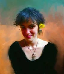 Fiore Giallo by L-E-N-T-E-S-C-U-R-A