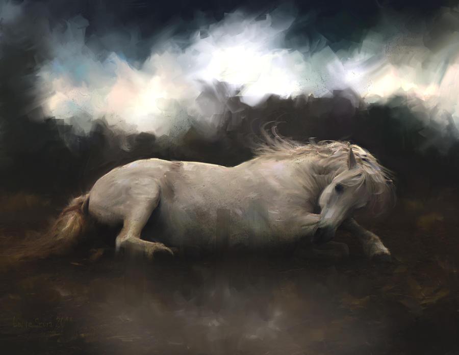 Il Cavallo Senza Cavaliere by L-E-N-T-E-S-C-U-R-A