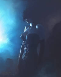 La Regina Dei Cuori Neri by L-E-N-T-E-S-C-U-R-A