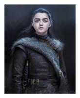 Arya Stark by L-E-N-T-E-S-C-U-R-A