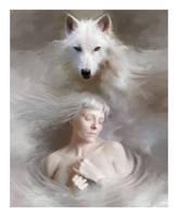 Lupo Bianco by L-E-N-T-E-S-C-U-R-A