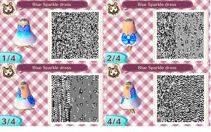 Blue Sparkle Dress design by SheWolfxVixen