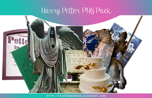[ 1 ] FREE HARRY POTTER PNG PACK by Diaphanerose