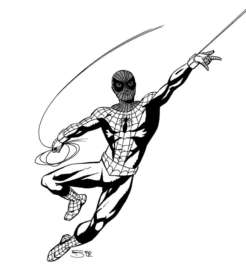 The Spider-Man That Might Have Been - black+white by ...