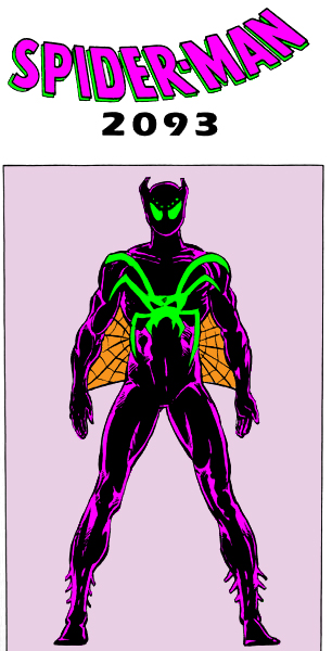 COLORS: Spider-Man 2093