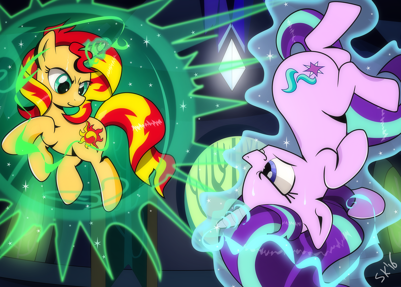 [Commission] Duel Of The Manes by dSana