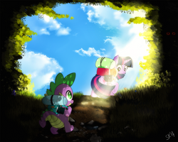 [Commission] Around the Bend by dSana