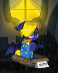[Commission] A Rainy Night in Canterlot