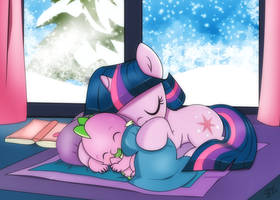 Winter Nap by dSana