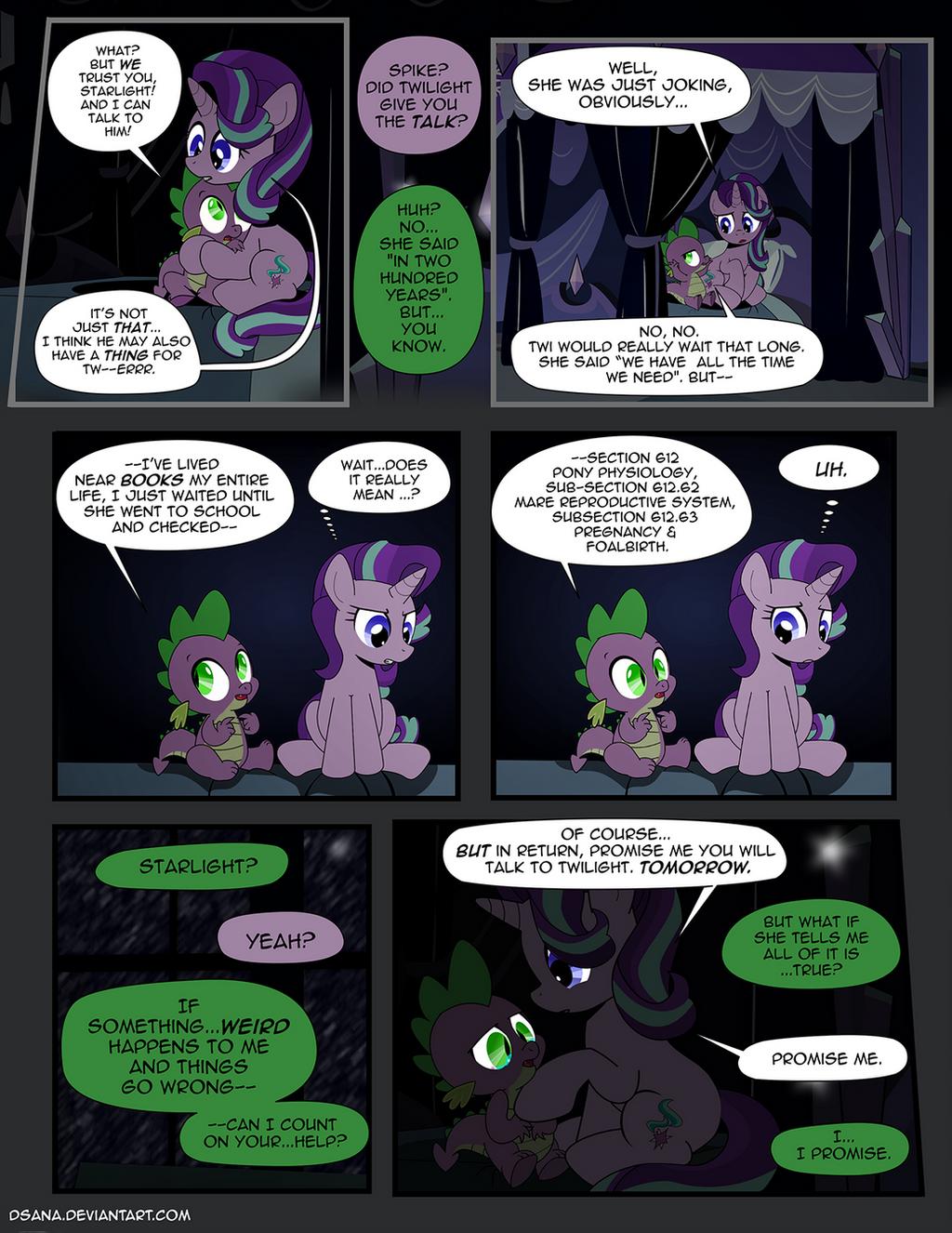 The Shadow Shard Page 39 by dSana on DeviantArt