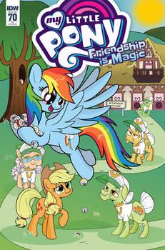 My Little Pony: Friendship is Magic #70 (CVR RI)