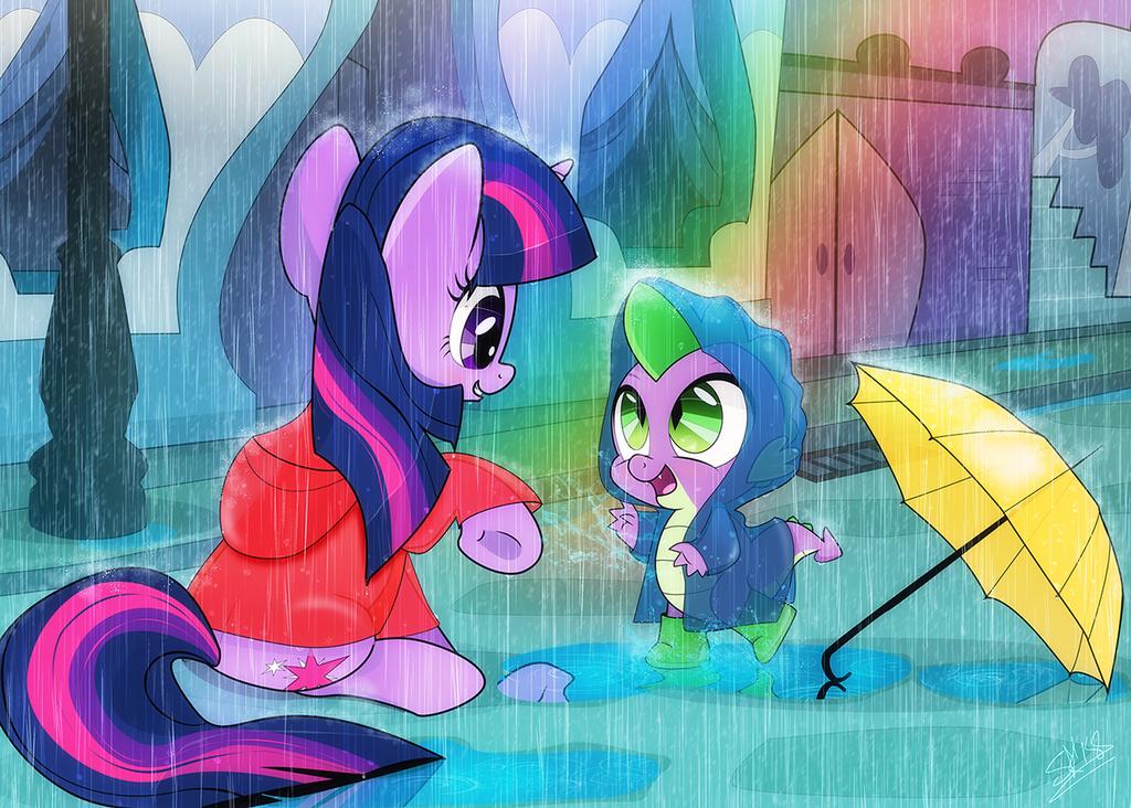 Rainy Day by dSana