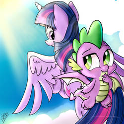 Wing Buddies by dSana