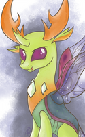 King Bug Watercolour by dSana