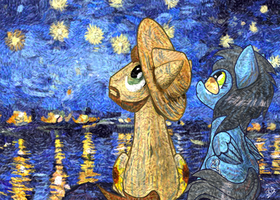 [Commission] Starry, Starry Night