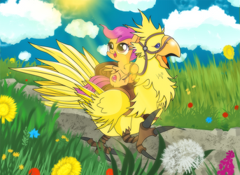 [Commission] My Chicken 2