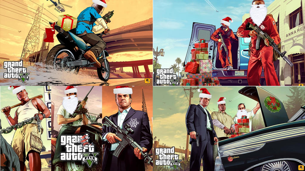 merry grand theft auto 5 christmas by pondey - Gta V Christmas