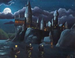 Hogwarts by KaraYoung