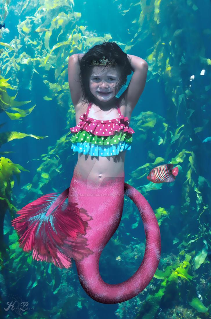 Mermaid Princess By Hannabananapm On Deviantart Mermaid Princess Drawings