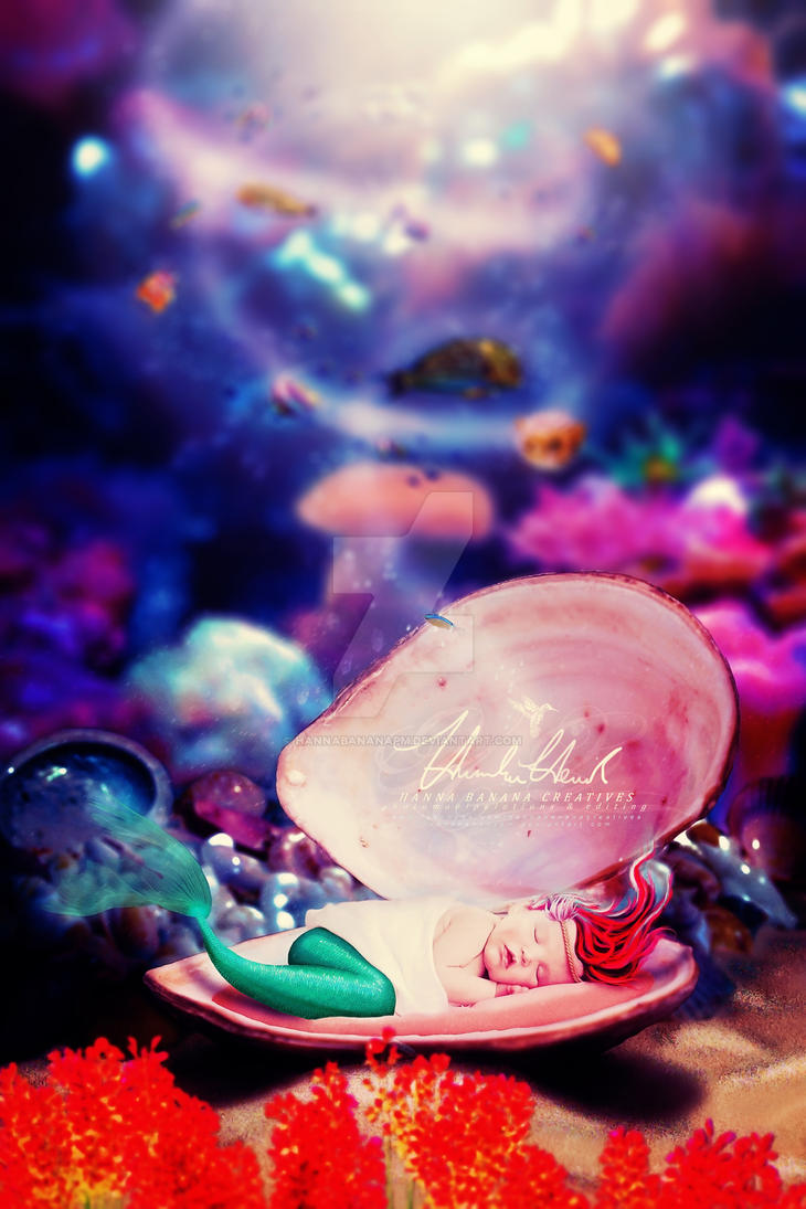 Baby Ariel by hannabananapm
