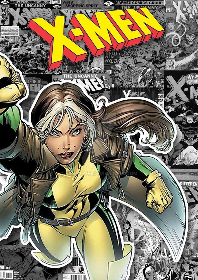 X-Men Rogue Poster by Firestar6