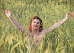 In the cornfield