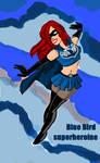 Bluebird superheroine