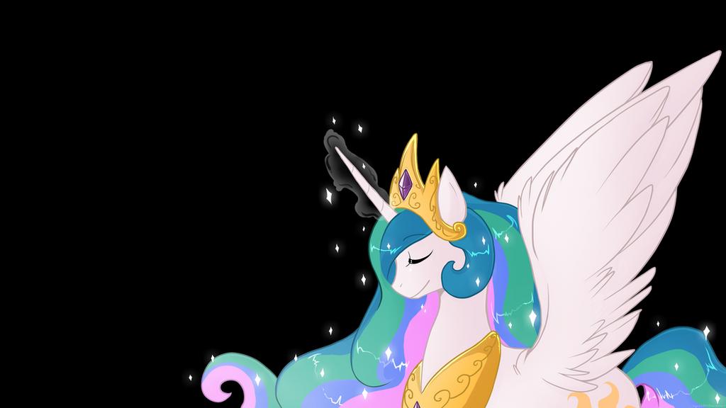 Princess Celestia by luga12345