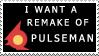 Pulseman Remake Stamp by Dr-Reggie