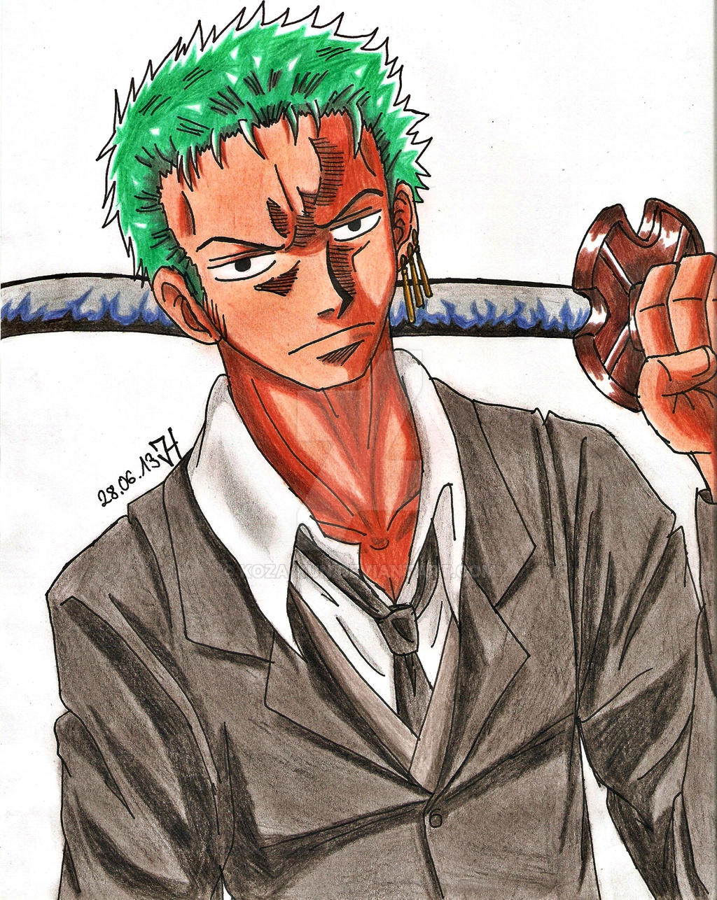 Zoro: Strong World by Koza-Kun