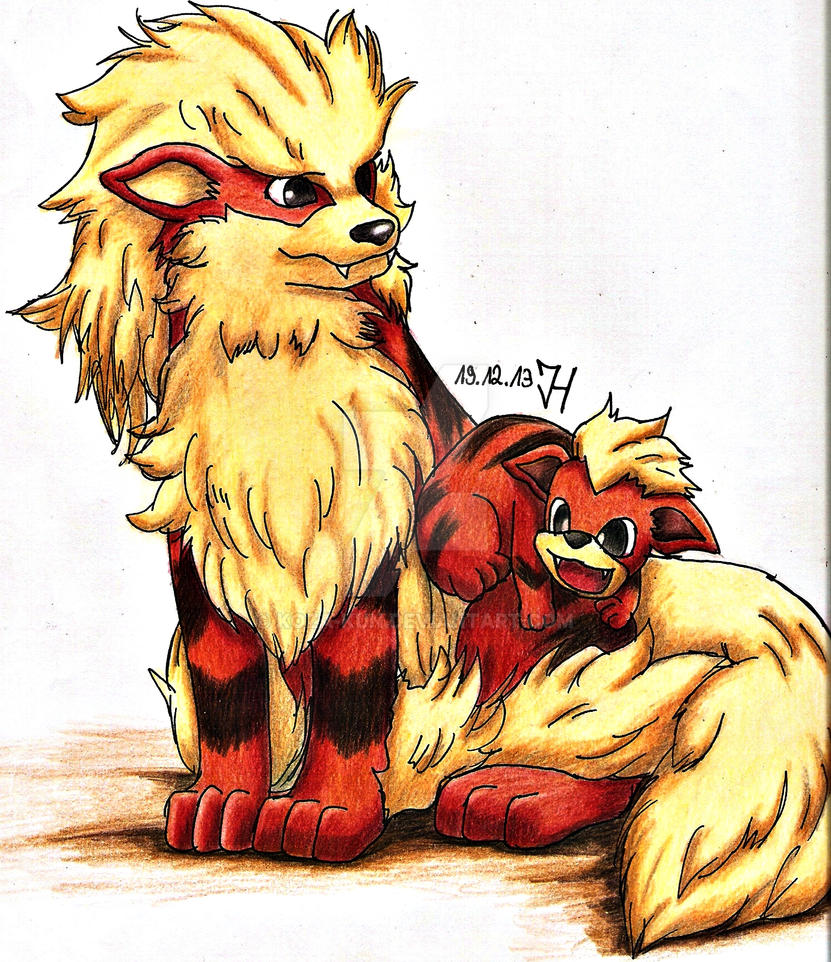Arcanine growlithe by koza kun on deviantart - Arcanine pics ...