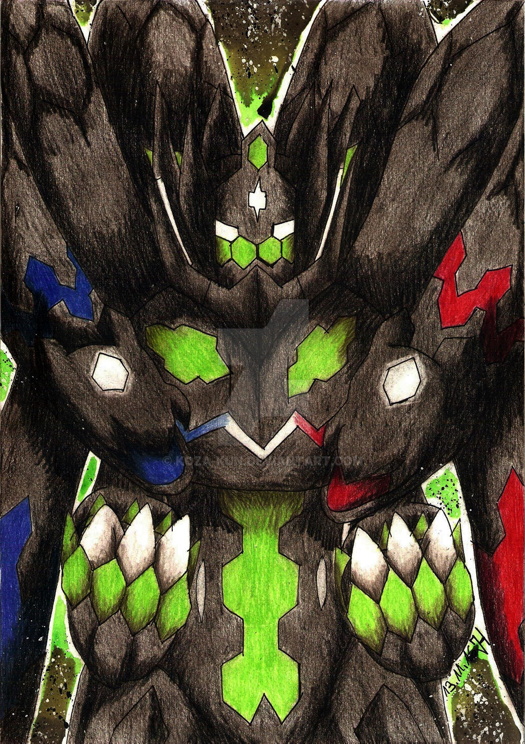 Perfect Zygarde by Koza-Kun