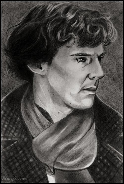 Sherlock by scary-scenes