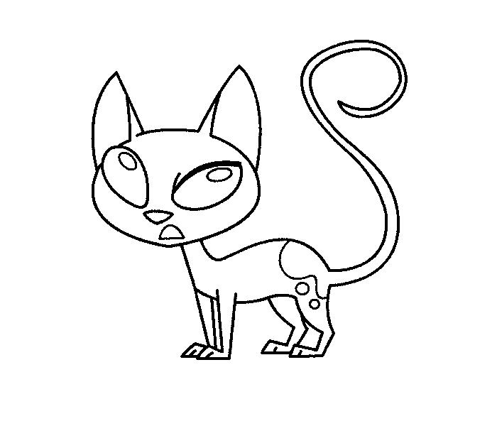 kid vs kat coloring pages | kat huh base by PhoenixKatFury on DeviantArt